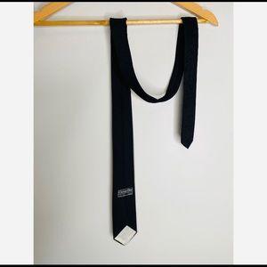 Christian Dior Men's Black Tie Silk Blend